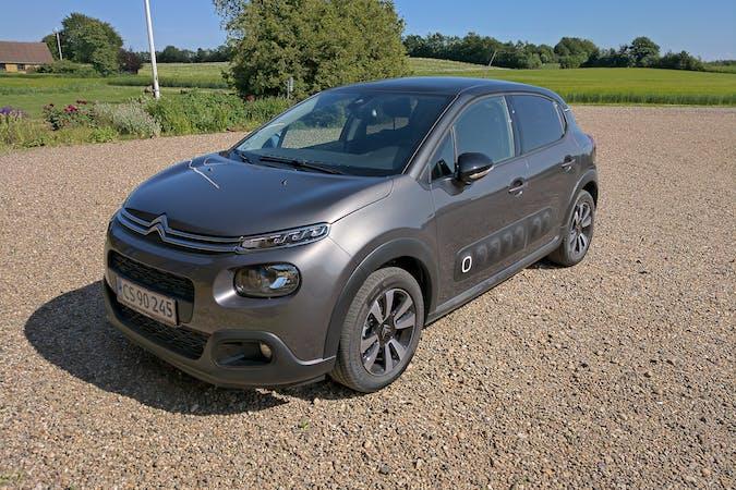 Billig billeje af Citroën C3 med Bluetooth nær 8200 Aarhus.