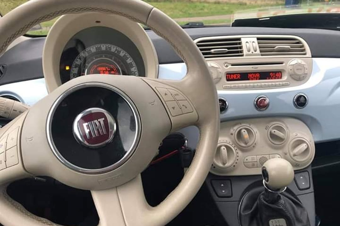 Billig billeje af Fiat 500 nær 4700 Næstved.