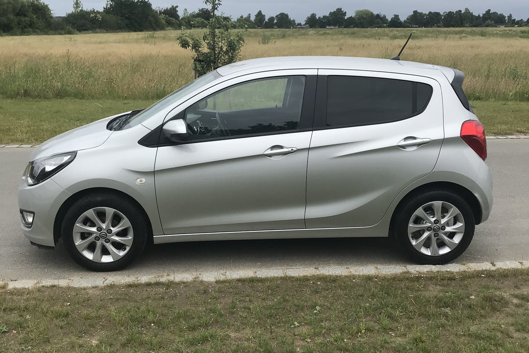 Billig billeje af Opel Karl nær 4671 Køge.