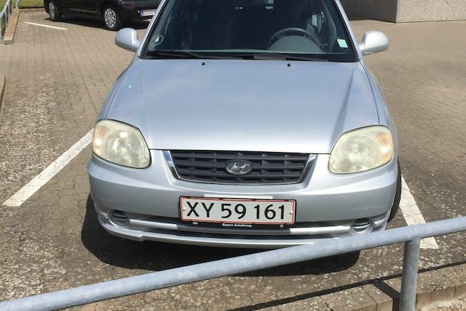 Billig billeje af Hyundai Accent nær 6710 Esbjerg.