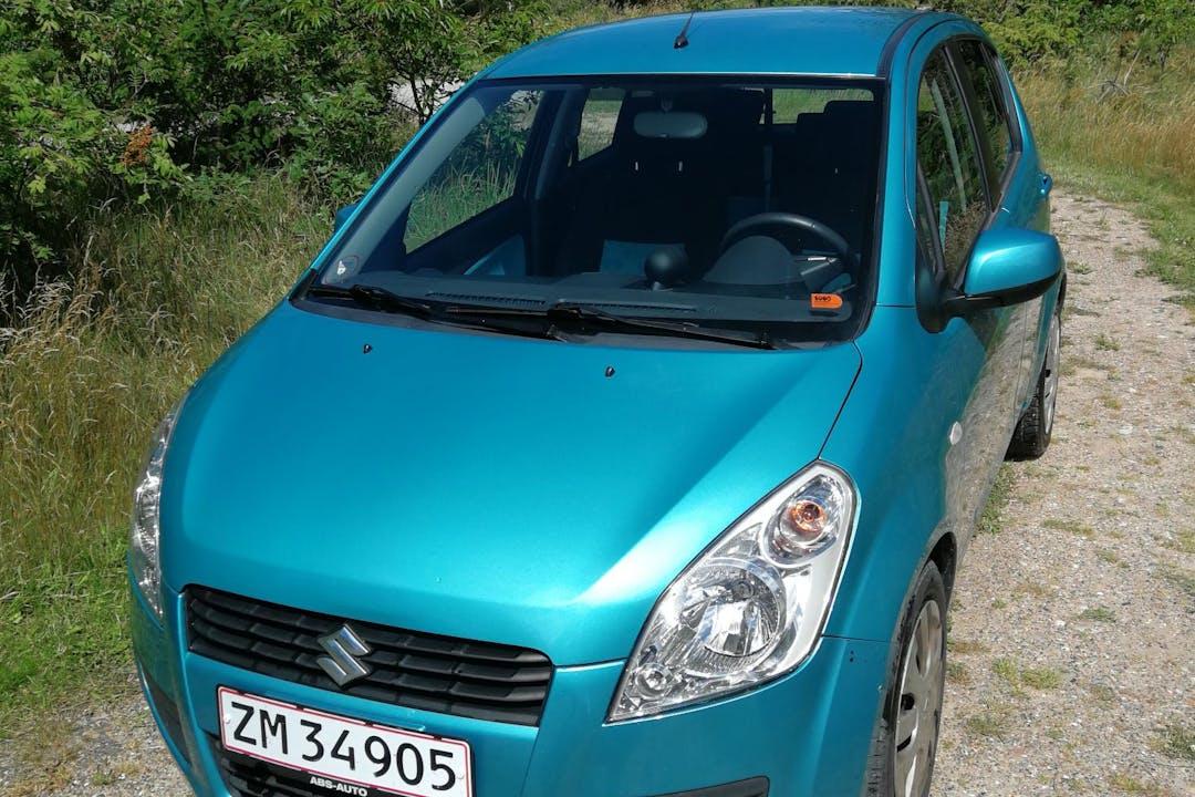 Billig billeje af Suzuki Splash nær 9850 Hirtshals.