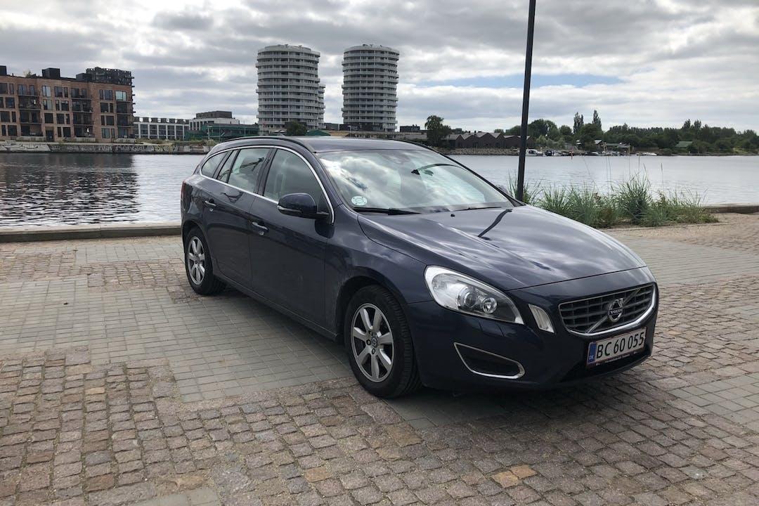 Billig billeje af Volvo V60 nær  København.