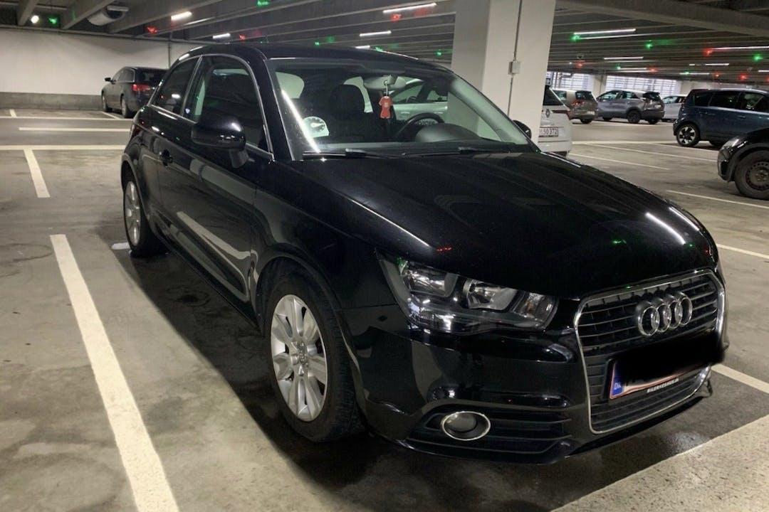 Billig billeje af Audi a1 med GPS nær 2300 København.