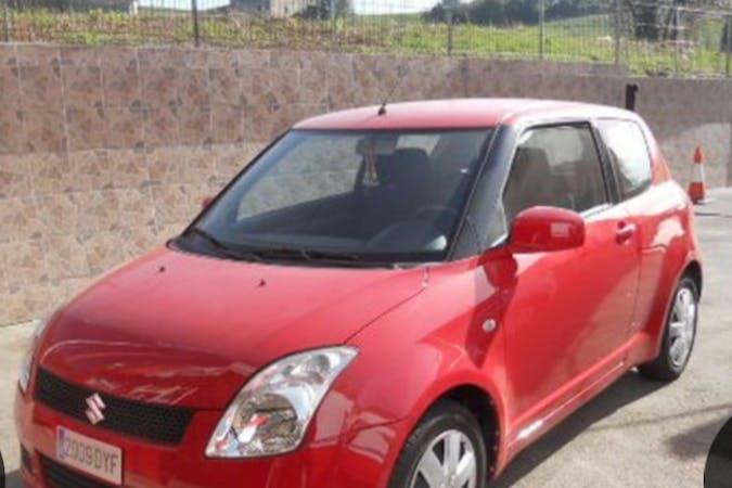 Alquiler barato de Suzuki Swift cerca de 28005 Madrid.