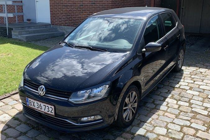 Billig billeje af Volkswagen Polo med Isofix beslag nær 8210 Aarhus.