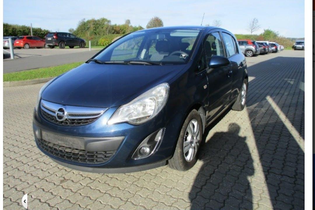 Billig billeje af Opel Corsa nær 7000 Fredericia.
