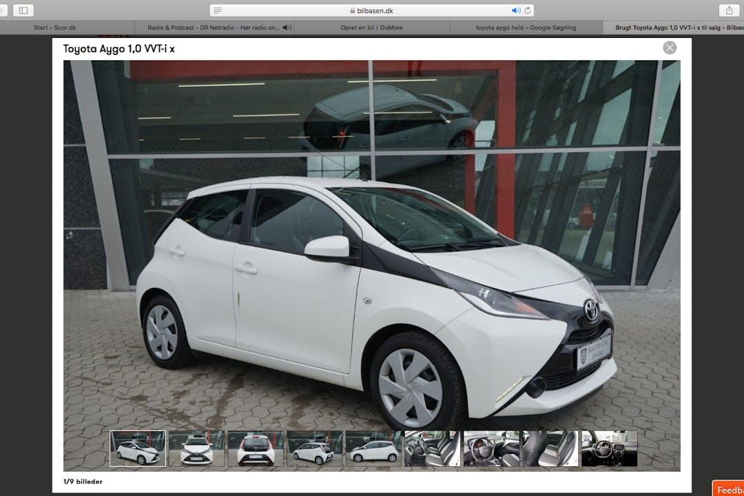 Billig billeje af Toyota AYGO nær 6000 Kolding.