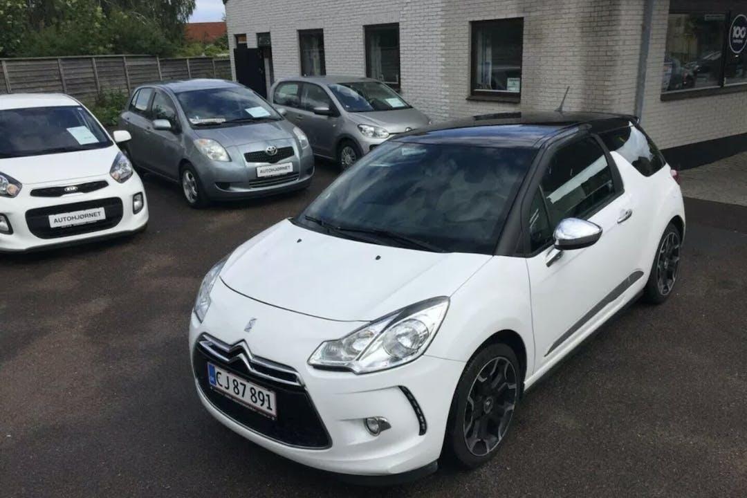 Billig billeje af Citroën DS3 nær 5000 Odense.