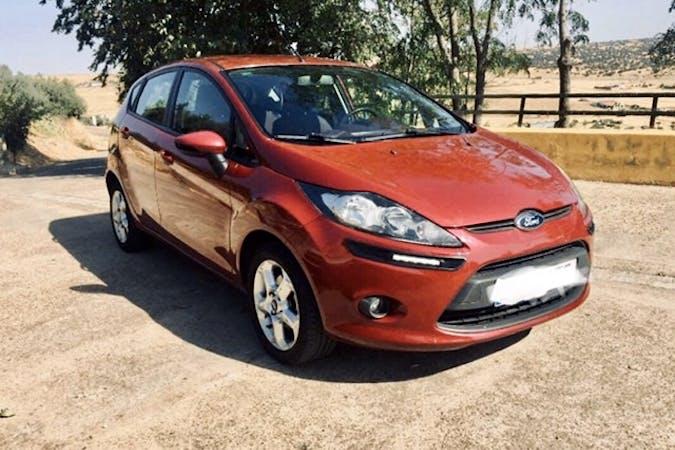 Alquiler barato de Ford Fiesta cerca de 08008 Barcelona.