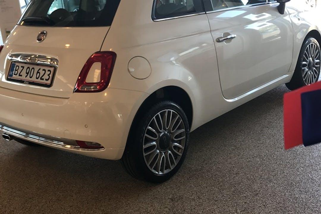 Billig billeje af Fiat 500 nær 8700 Horsens.
