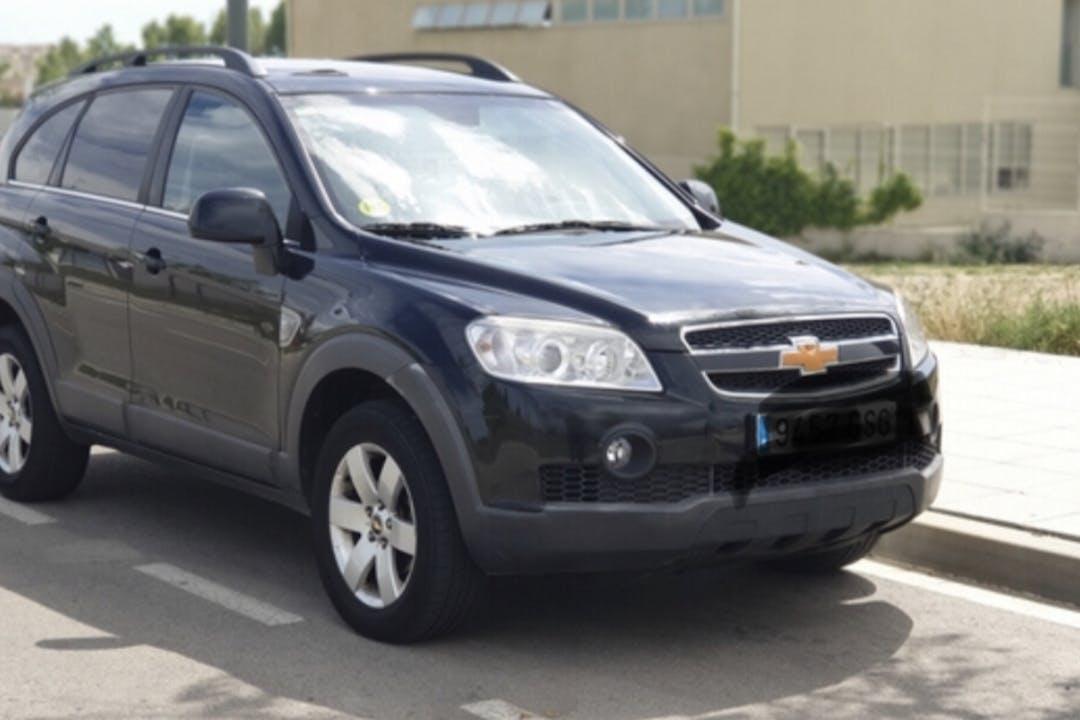 Alquiler barato de Chevrolet-Gm Captiva cerca de 08037 Barcelona.