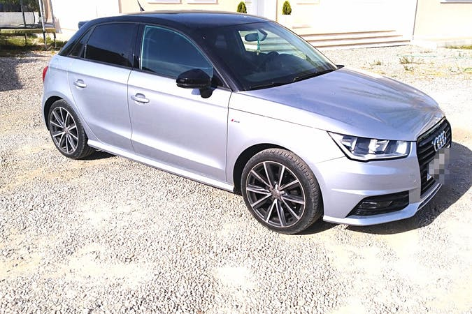 Alquiler barato de Audi A1 cerca de 07004 Palma.