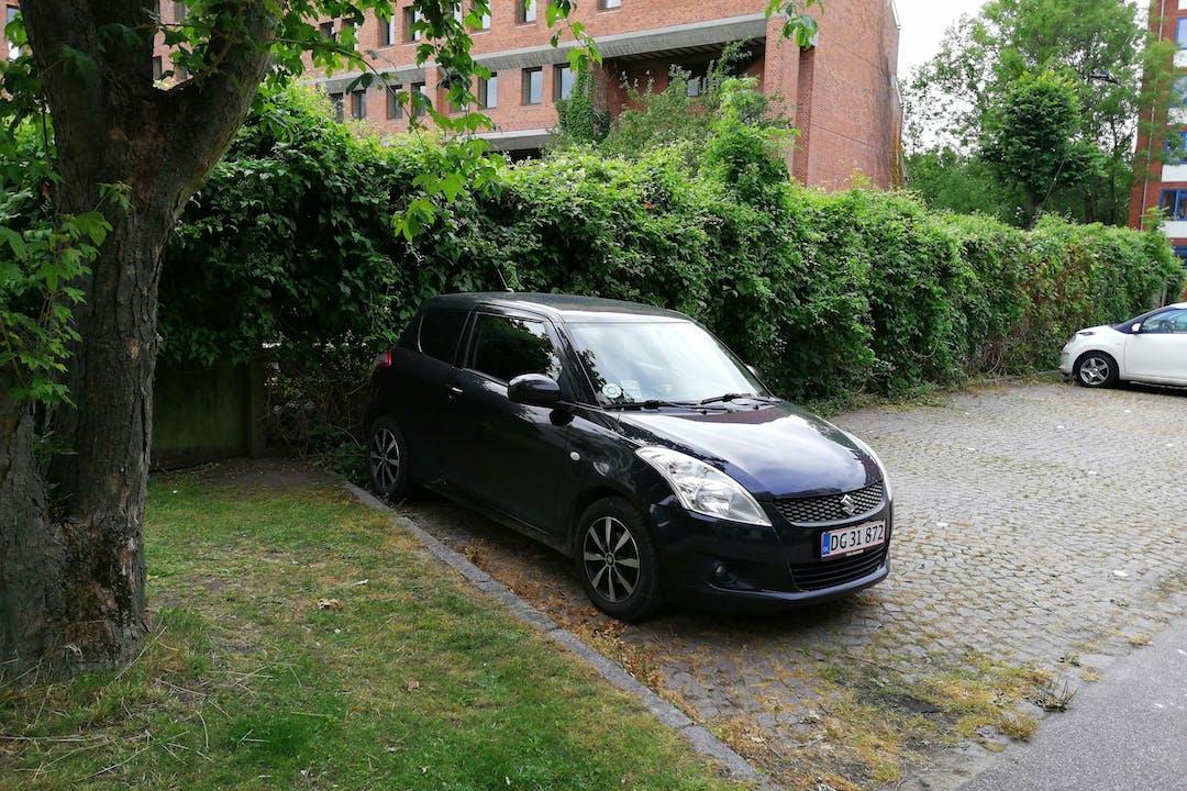 Billig billeje af Suzuki Swift nær 2500 København.