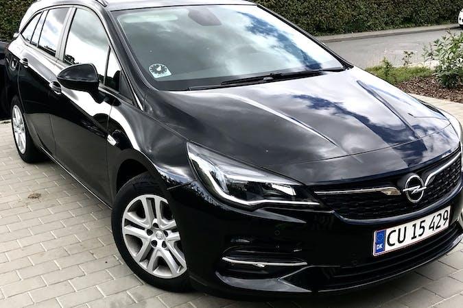 Billig billeje af Opel Astra nær 8520 Lystrup.
