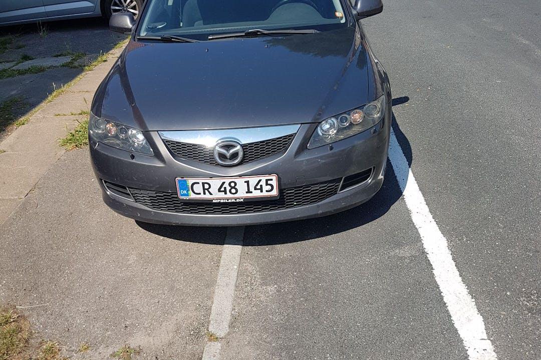 Billig billeje af Mazda 6 med Isofix beslag nær 2100 København.