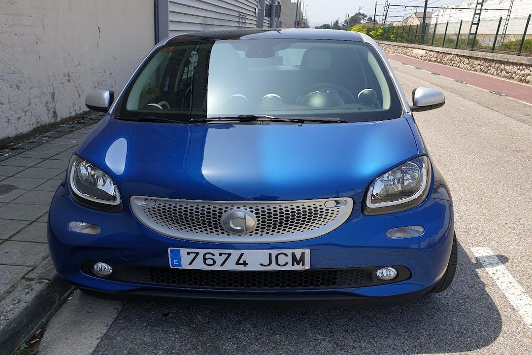 Alquiler barato de Smart Forfour con equipamiento Fijaciones Isofix cerca de 07800 Eivissa.