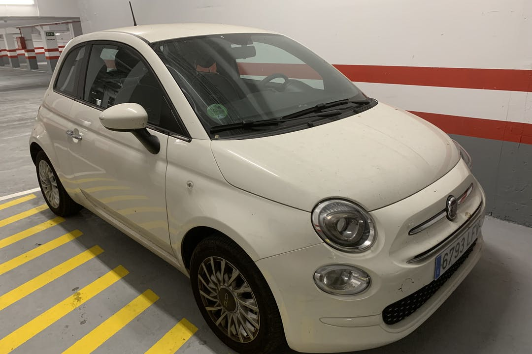 Alquiler barato de Fiat 500 cerca de 08006 Barcelona.
