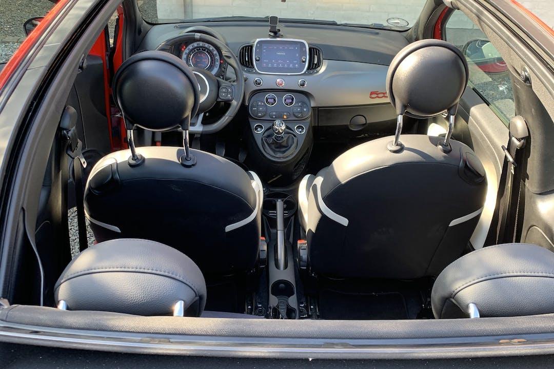 Billig billeje af Fiat 500C nær 4300 Holbæk.