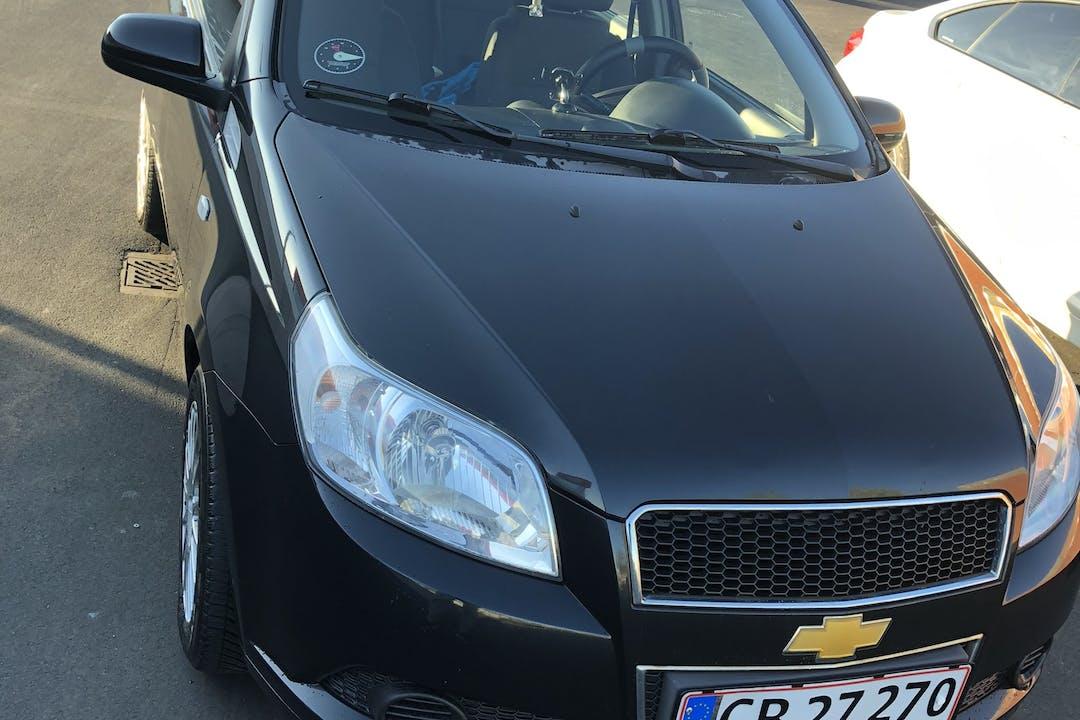 Billig billeje af Chevrolet Aveo nær 2800 Kongens Lyngby.
