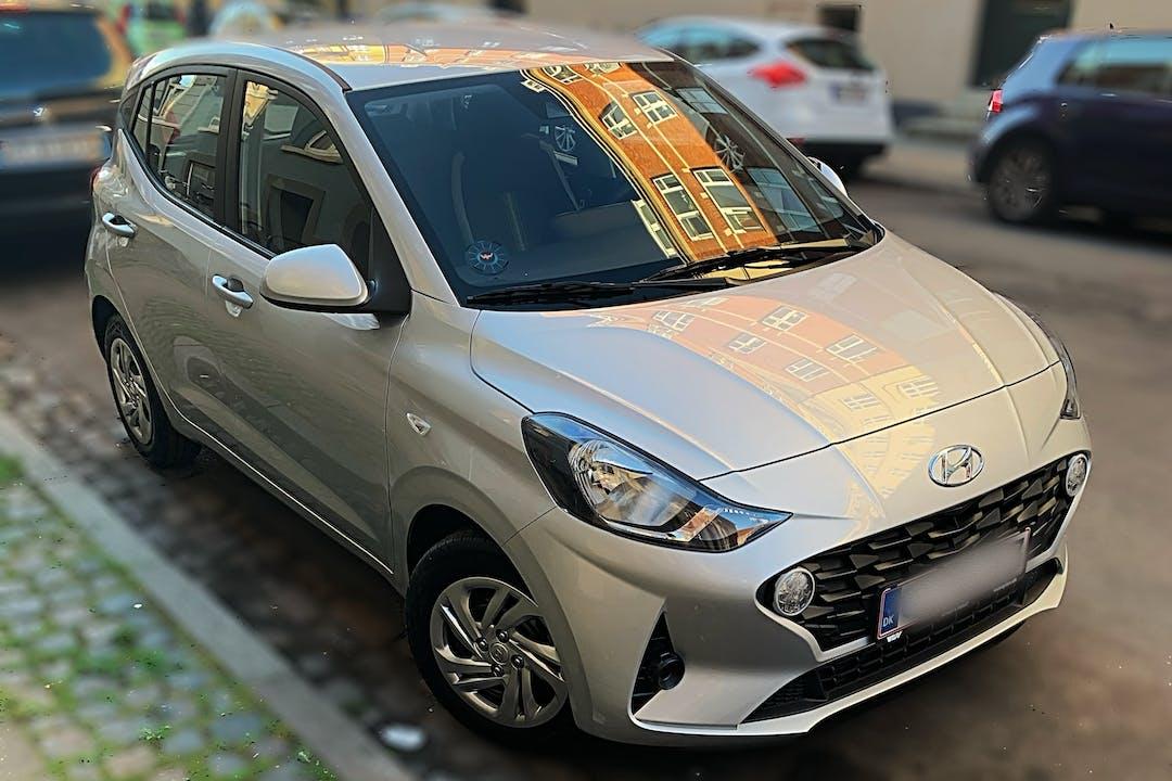 Billig billeje af Hyundai i10 nær 2200 København.