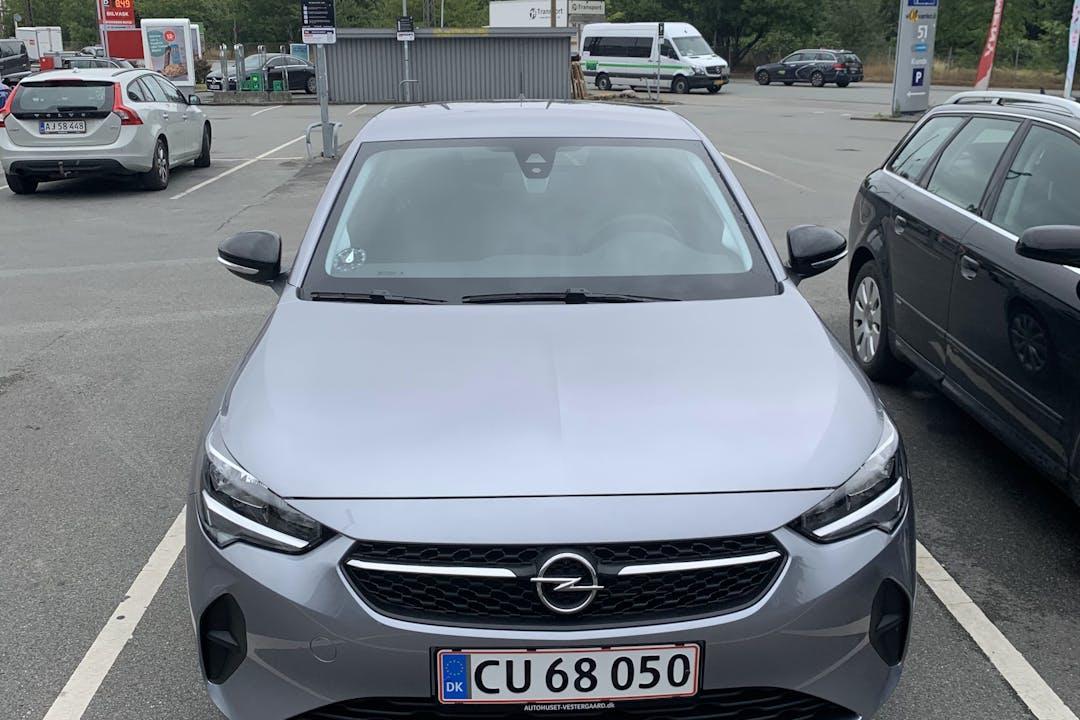 Billig billeje af Opel Corsa nær 2300 København.