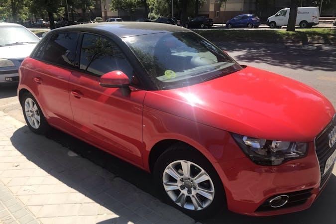 Alquiler barato de Audi A1 Sportback cerca de 28037 Madrid.