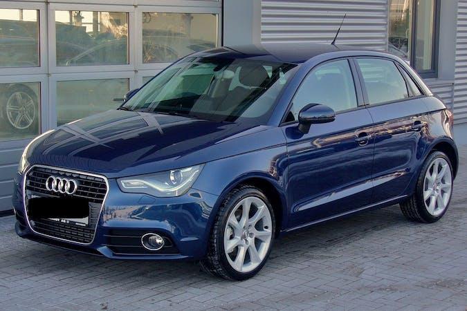 Alquiler barato de Audi A1 Sportback con equipamiento Bluetooth cerca de 28005 Madrid.