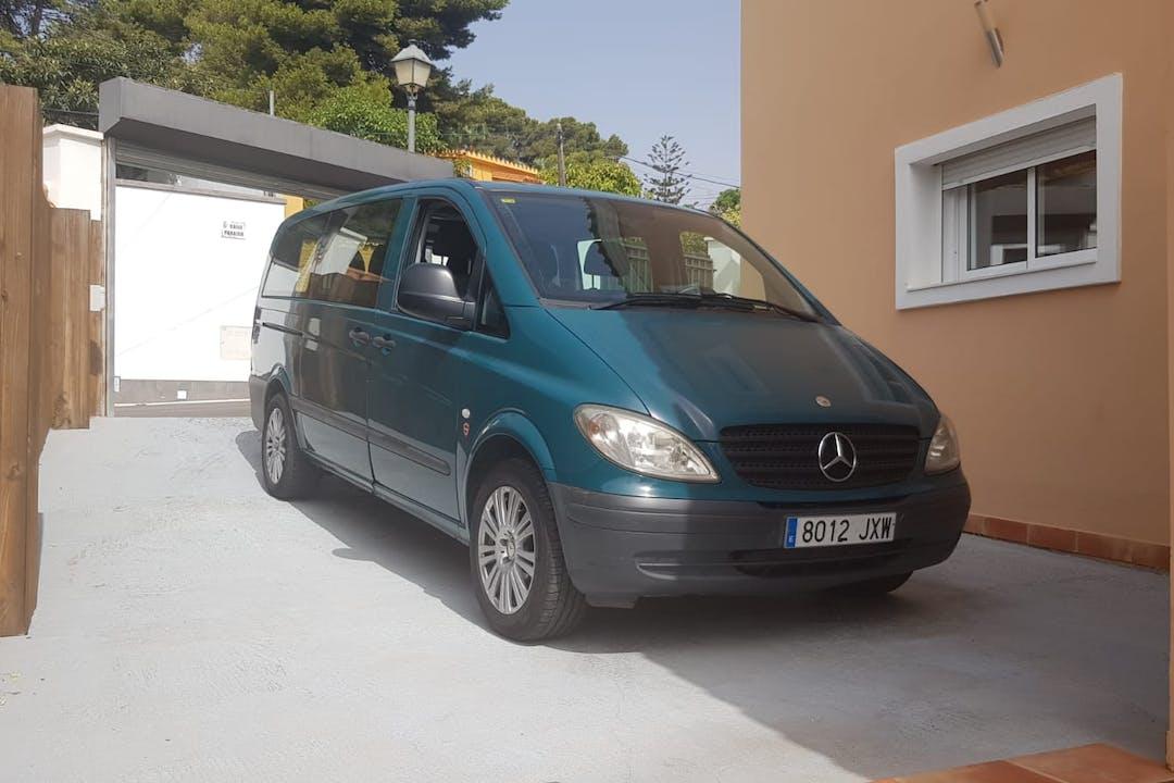 Alquiler barato de Mercedes Vito cerca de 29620 Torremolinos.