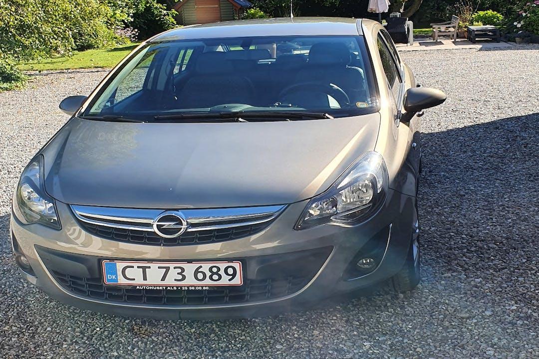 Billig billeje af Opel Corsa med Aircondition nær  Esbjerg.