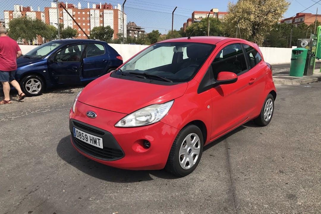 Alquiler barato de Ford Ka cerca de 28002 Madrid.