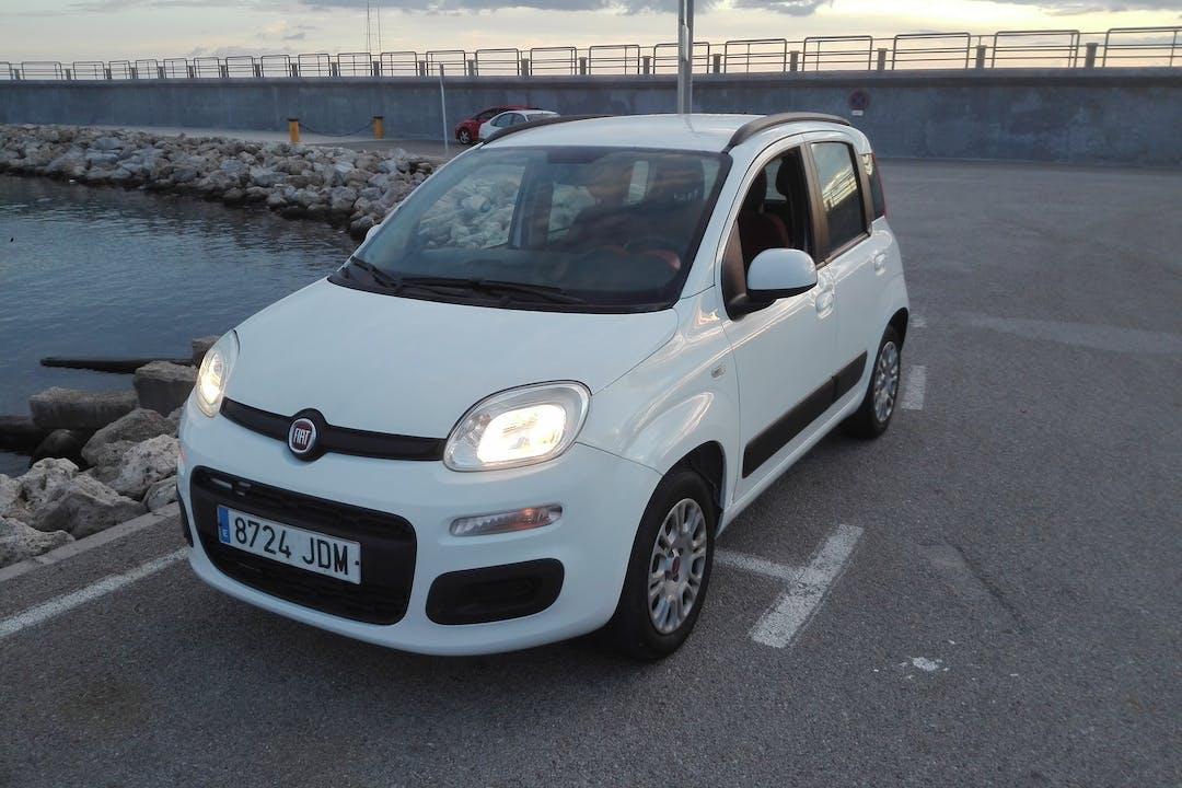 Alquiler barato de Fiat Panda cerca de  Palma.