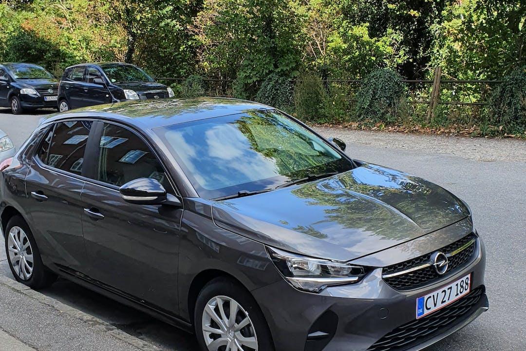Billig billeje af Opel Corsa nær 2500 København.