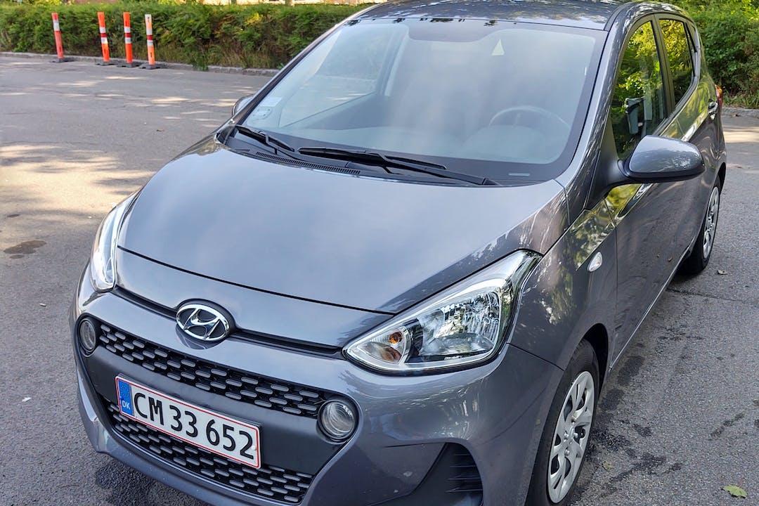 Billig billeje af Hyundai i10 med Isofix beslag nær 2605 Brøndby.