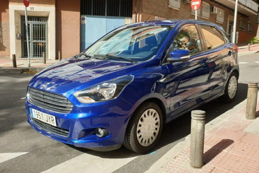 Alquiler barato de Ford Ka+ cerca de 28017 Madrid.