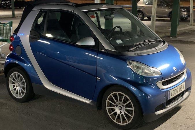 Alquiler barato de Smart Fortwo Cabrio cerca de 28222 Majadahonda.