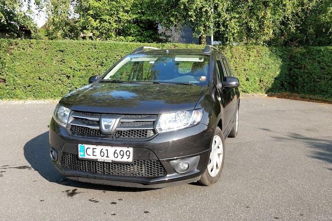 Billig billeje af Dacia Logan med Isofix beslag nær 8600 Silkeborg.