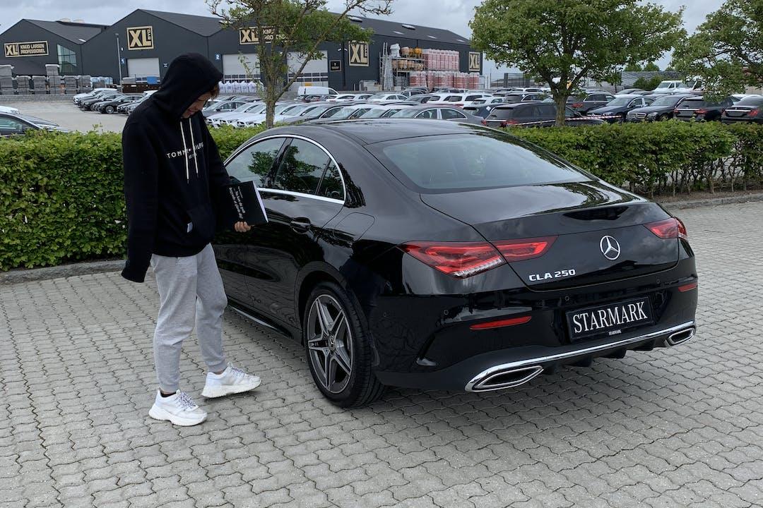 Billig billeje af Mercedes CLA nær 2730 Herlev.