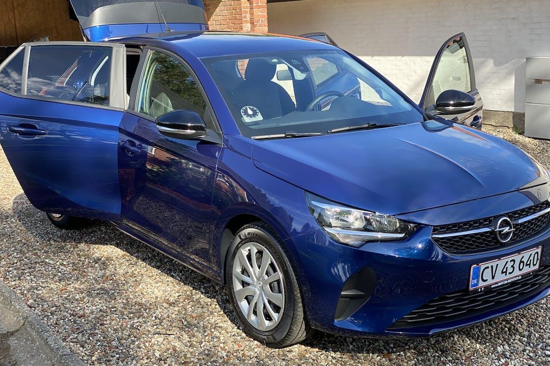 Billig billeje af Opel Corsa med GPS nær 7000 Fredericia.