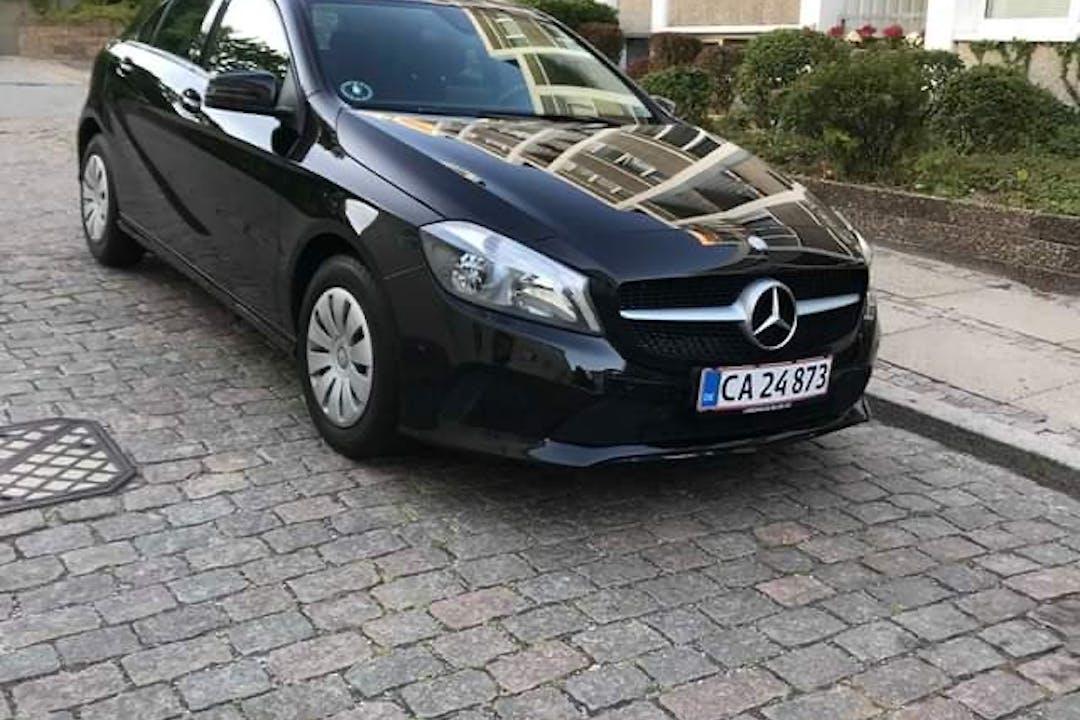 Billig billeje af Mercedes A-Class nær 8230 Aarhus.