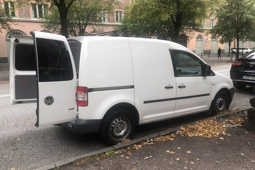 Billig biluthyrning av Volkswagen Caddy i närheten av  .