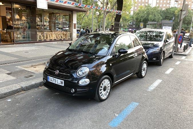 Alquiler barato de Fiat 500 con equipamiento Aire acondicionado cerca de 28045 Madrid.