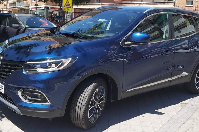 Alquiler barato de Renault Kadjar con equipamiento GPS cerca de 28019 Madrid.