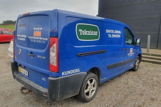 Billig billeje af Peugeot Expert med Anhængertræk nær 7160 Tørring.
