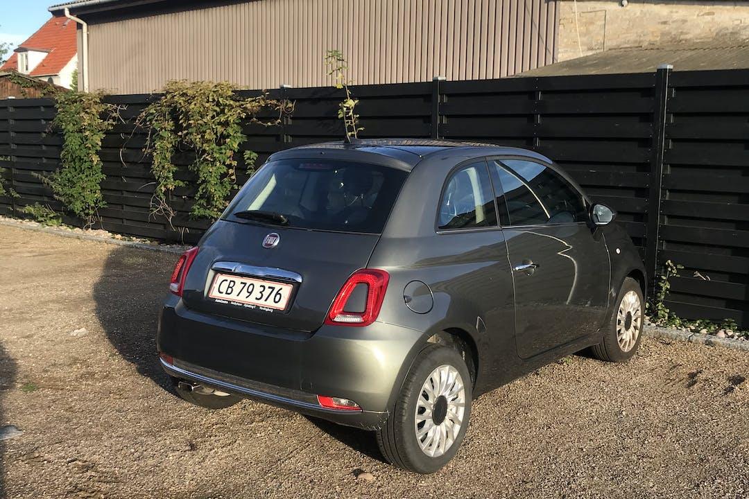 Billig billeje af Fiat 500 med GPS nær 2800 Kongens Lyngby.
