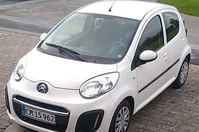 Billig billeje af Citroën C1 med Isofix beslag nær 5500 Middelfart.