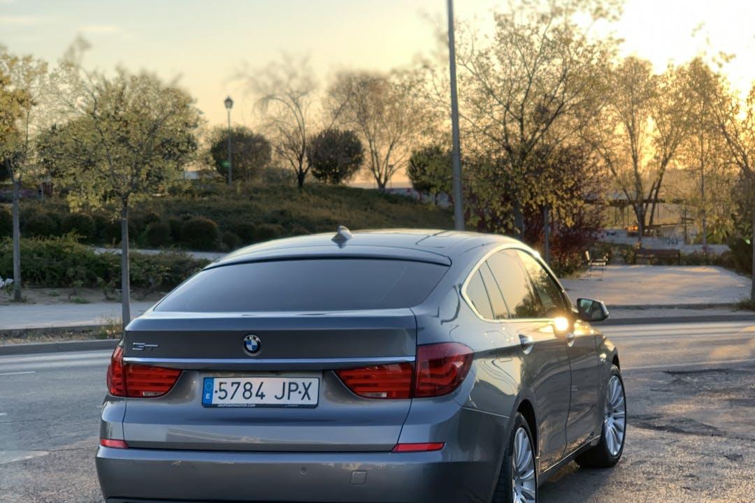 Alquiler barato de BMW Serie 5 con equipamiento GPS cerca de 29010 Málaga.