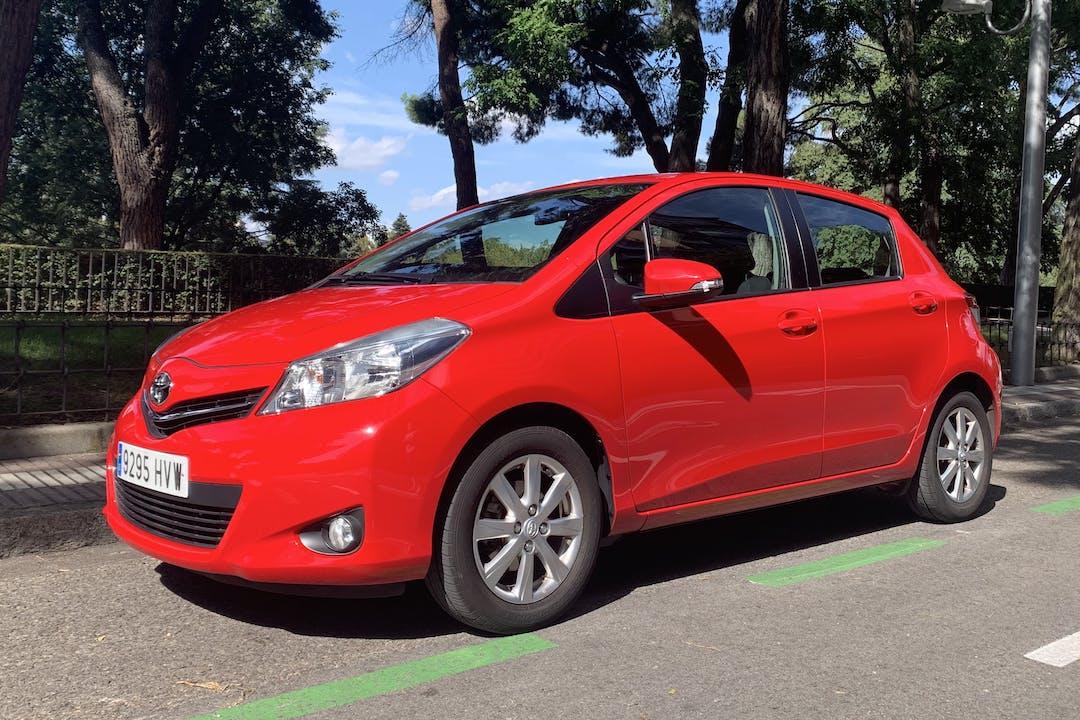 Alquiler barato de Toyota Yaris cerca de 28019 Madrid.