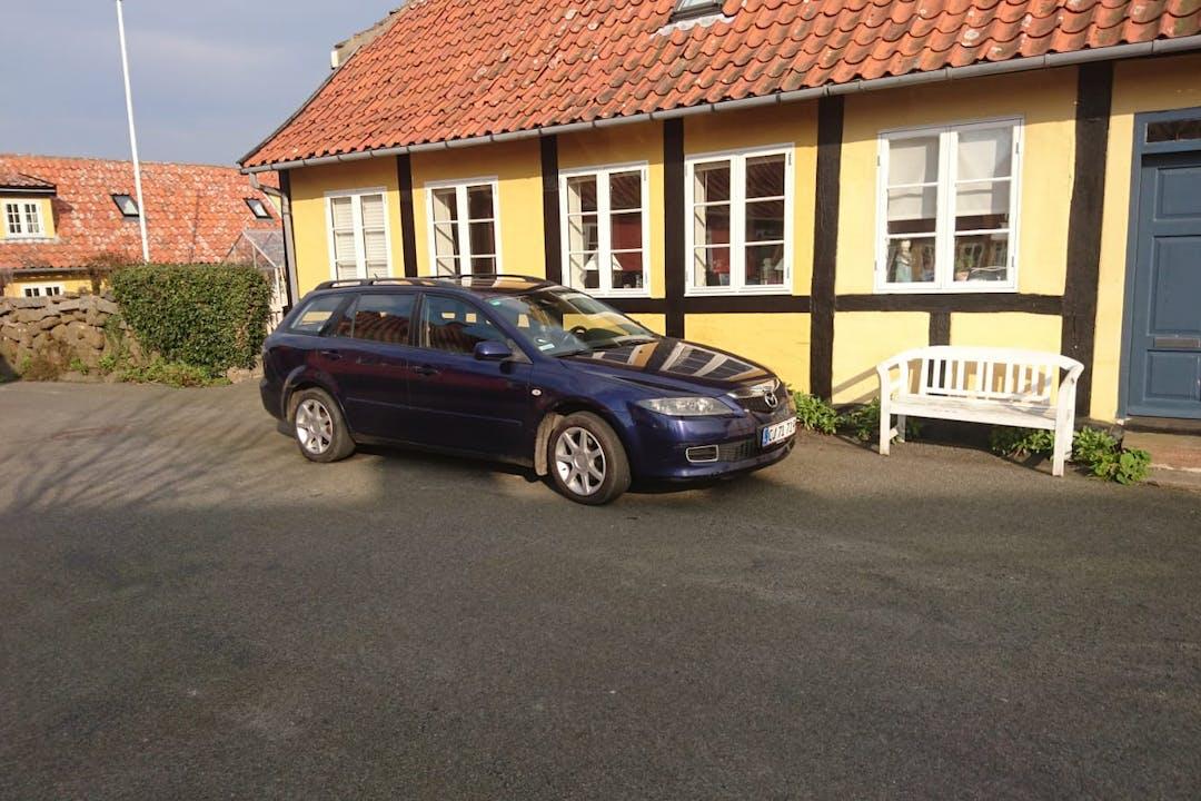 Billig billeje af Mazda 6 med Anhængertræk nær 3740 Svaneke.