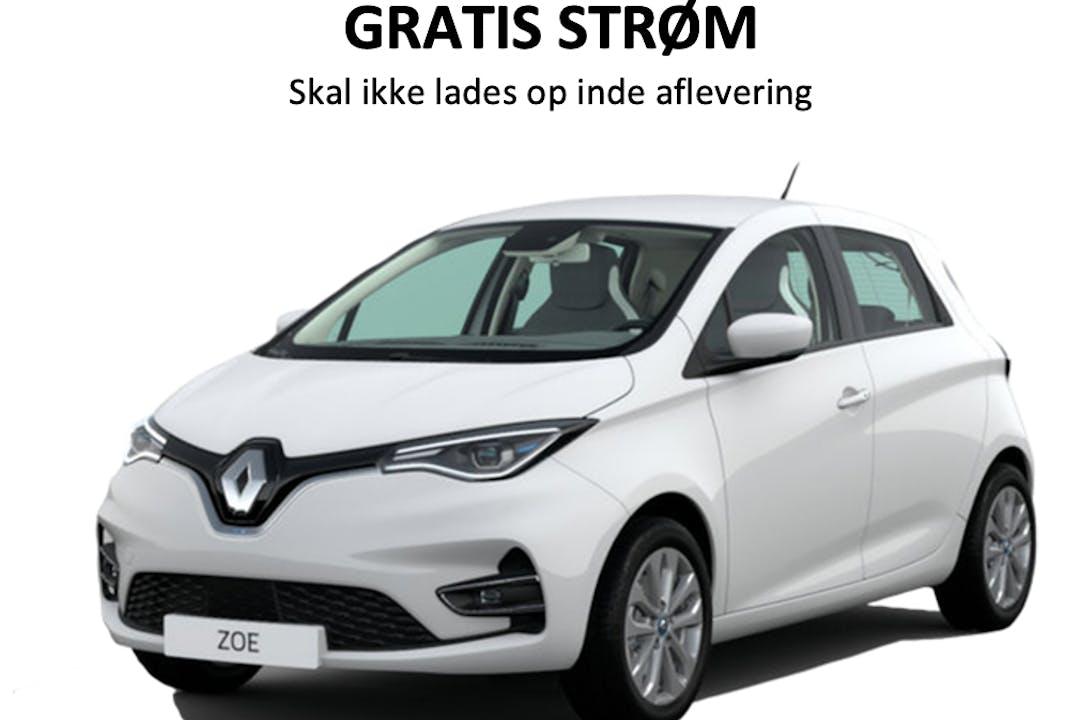 Billig billeje af Renault Zoe med GPS nær 4000 Roskilde.