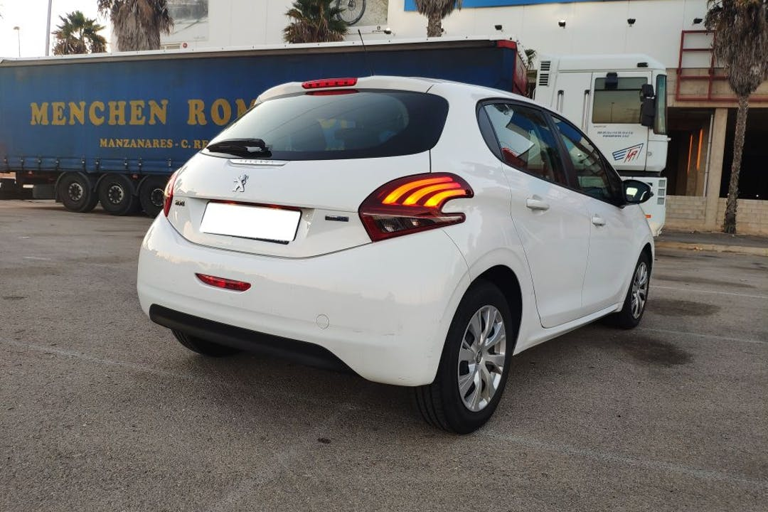 Alquiler barato de Peugeot 208 cerca de 30202 Cartagena.